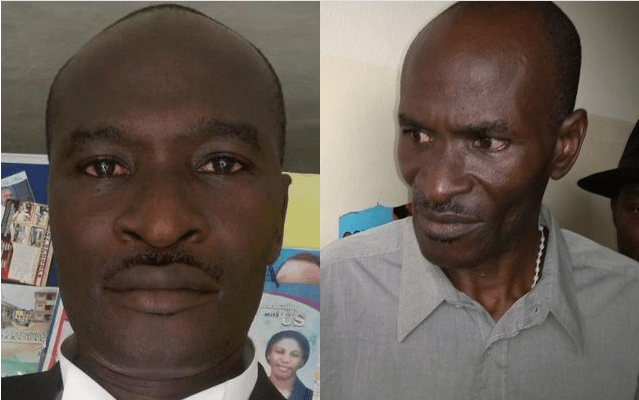 SPOT THE DIFFERENCE: Jones Abiri's pictures before and after his two-year DSS detention